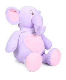 Starwalk Plush Elephant Soft Toy Purple - Height 46 cm