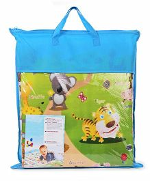 Smiles Creation Play Mat Alphabets And Animal Print - Multicolor