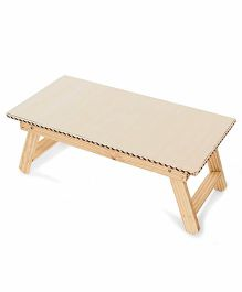 Lovely Kids Collection Wooden Table - Off White