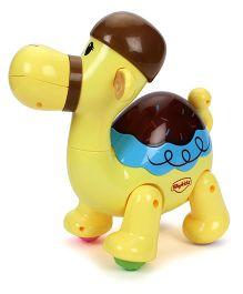 SkyKidz Dancing Pets Musical Toy Camel - Yellow