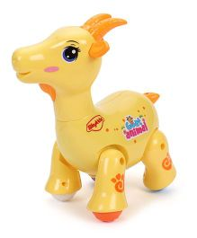 SkyKidz Dancing Pets Musical Toy Goat - Yellow