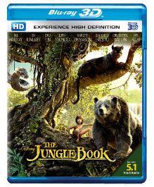 Disney The Jungle Book 3D BD - English And Hindi