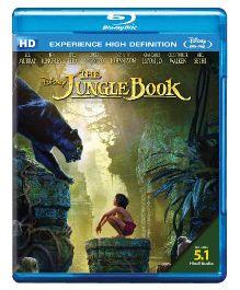 The Jungle Book Blue Ray - English And Hindi