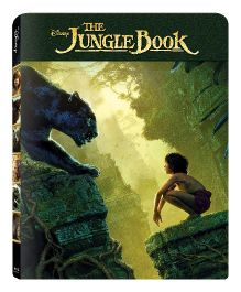 Disney The Jungle Book 3D BD Steelbook - English