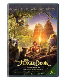 Disney The Jungle Book DVD - English And Hindi