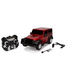 Smiles Creation Trooper Crazy Transformer Robot Car Toy - Red