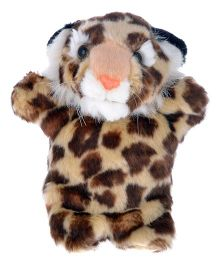 Twisha Nx Cheetah Hand Puppet Brown & Cream - 25.4 cm