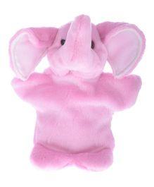 Twisha Nx Elephant Hand Puppet Pink - 25.4 cm