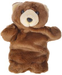 Twisha Nx Bear Hand Puppet Brown - 25.4 cm