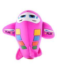 Twisha Nx Aeroplane Hand Puppet Pink - 17.8 cm