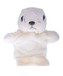 Twisha Nx Seal Hand Puppet White - 25.4 cm