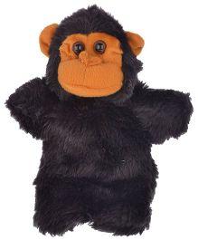 Twisha Nx Monkey Hand Puppet Black - 25.4 cm