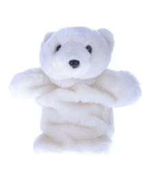 Twisha Hand Puppet Polar Bear White- 25 cm