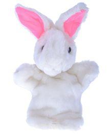 Twisha Hand Puppet Bunny White - 25 cm