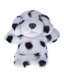 Twisha Hand Puppet Dalmatian Dog White And Black - 25 cm