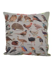 Twisha NX Birds Printed Pillow - Multicolor