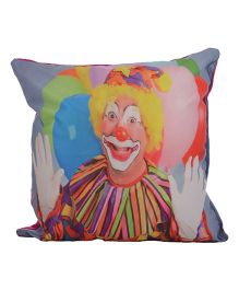 Twisha Joker Printed Cushion - Multi Color