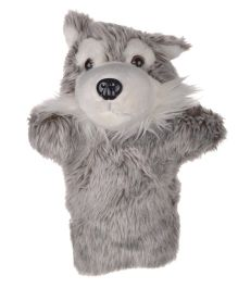 Twisha Hand Puppet Fox Grey - 25.4 cm