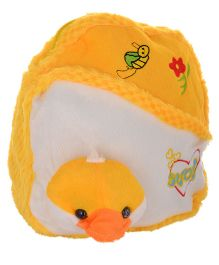 Twisha Nursery Bag With Chick Applique Yellow - 12 inch