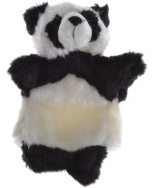 Twisha Hand Puppet Panda White And Black - 25.4 cm