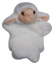 Twisha Hand Puppet Sheep White - 25.4 cm