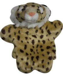 Twisha Hand Puppet Cheetah Yellow - 25.4 cm