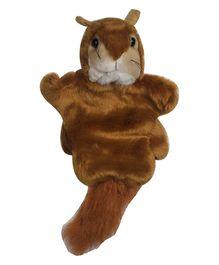 Twisha Hand Puppet Squirell  Brown - 25.4 cm