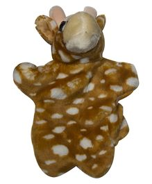 Twisha Hand Puppet Giraffe Brown - 25.4 cm