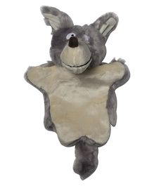 Twisha Hand Puppet Fox Dark Grey - 25.4 cm