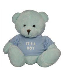 Twisha NX Bear With T Shirt It's A Boy Large - Blue