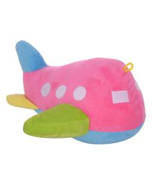 Twisha Aeroplane Soft Toy - Pink