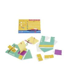 JackInTheBox Things That Go 2 In 1 Activity Game - Multicolor