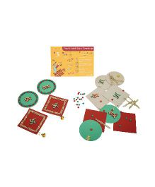 JackInTheBox Sparkling Diwali 3 in 1 Game Set - Multicolor