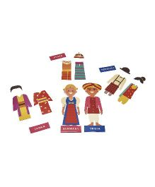 JackInTheBox Around The World 3 In 1 Activity Set - Multicolor