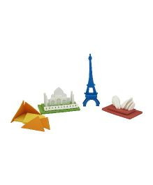 JackInTheBox Around The World 2 In 1 Activity Set - Multicolor