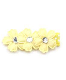 Little Cuddle Cute Flowers Hair Clip - Yellow