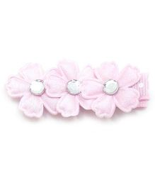 Little Cuddle Cute Flowers Hair Clip - Pink