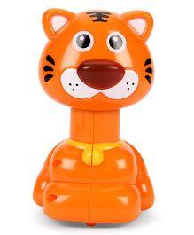 Toymaster Press & Go Tiger shape - Orange