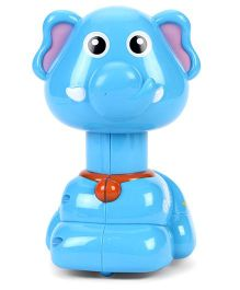 Toymaster Press & Go Elephant Shape - Blue