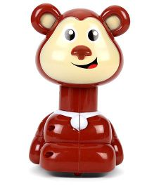 Toymaster Press & Go Monkey Shape - Brown