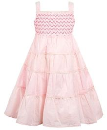 The Cranberry Club Girl'S Gathered Dress - Pink