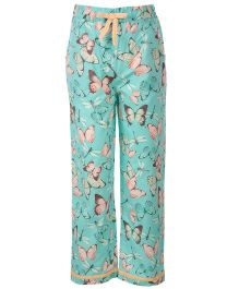 The Cranberry Club Butterfly Print Pajama - Multicolor