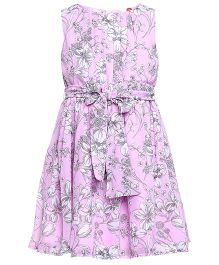 The Cranberry Club Floral Dress - Pink