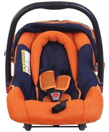 Mee Mee Car Seat Cum Carry Cot - Orange N Blue