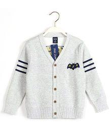 Pre Order - Superfie Pilot Style Cardigan - White