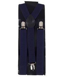 Kid O Nation Plain Suspenders - Blue