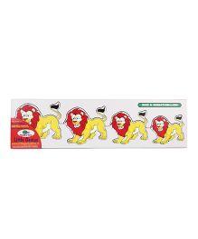 Little Genius Wooden Lion Seriation