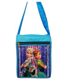 Thought Counts 3D Cartoon Character Sling Bag - Blue