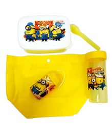 Thought Counts 5 In 1 Cartoon Character Tiffin Set - Yellow