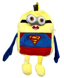 Thought Counts Cartoon Character Bag - Yellow & Blue